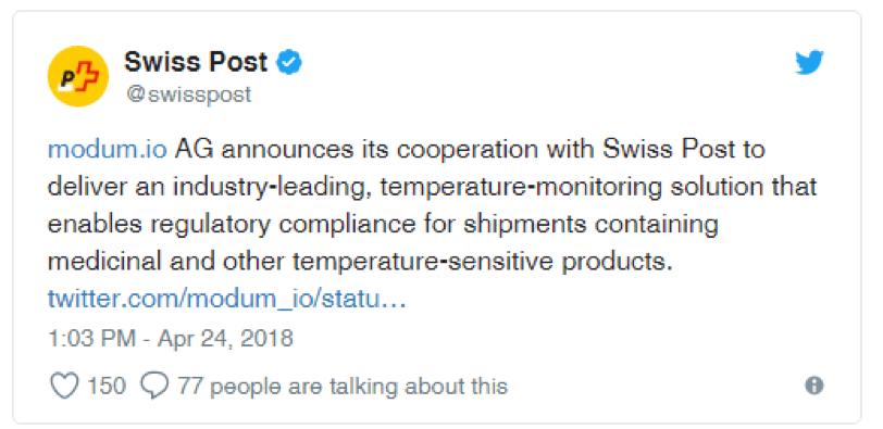 Swiss Post Modum İşbirliği